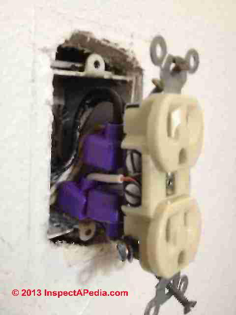 aluminum wiring repair  how to get wiring space in