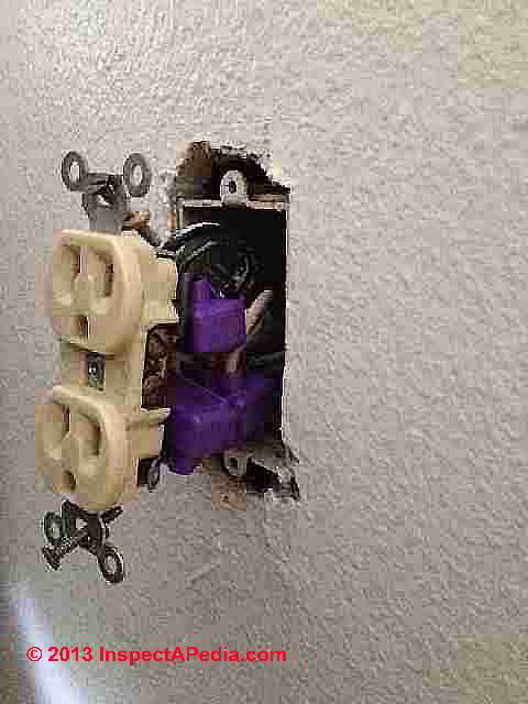 aluminum wiring repair how to get wiring space in electrical boxes rh inspectapedia com aluminum wiring repair cincinnati aluminum wiring repair denver