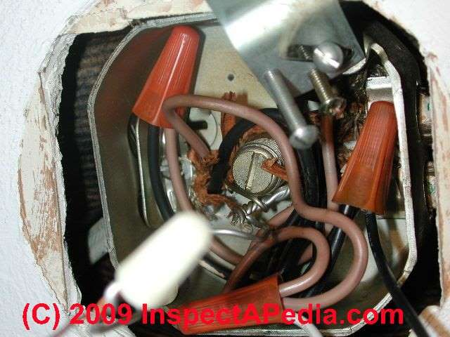 aluminum wiring repair how to get wiring space in electrical photo of aluminum to aluminum wire splicing before repair