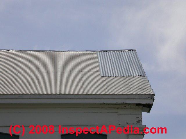 corrugated metal roof c daniel friedman
