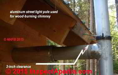 Single Wall Metal Vents And Chimneys Inspection