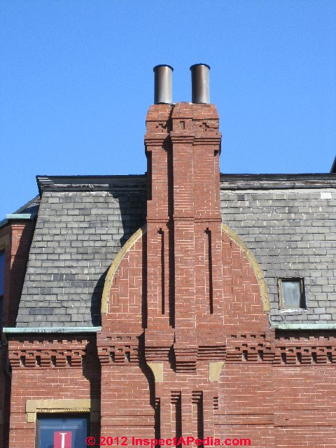 Decorative Chimney Pots Also Extend Chimney Height