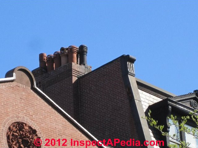 Architectural Chimney Tops : Chimney pots decorative tops on chimneys