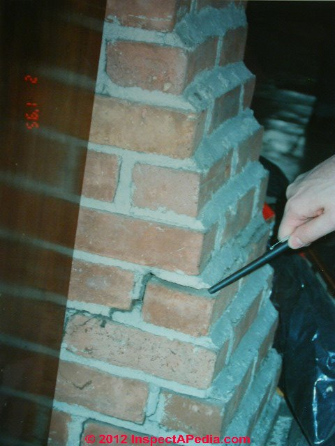 Chimney Crack Diagnosis A Catalog Of Types And Causes Of