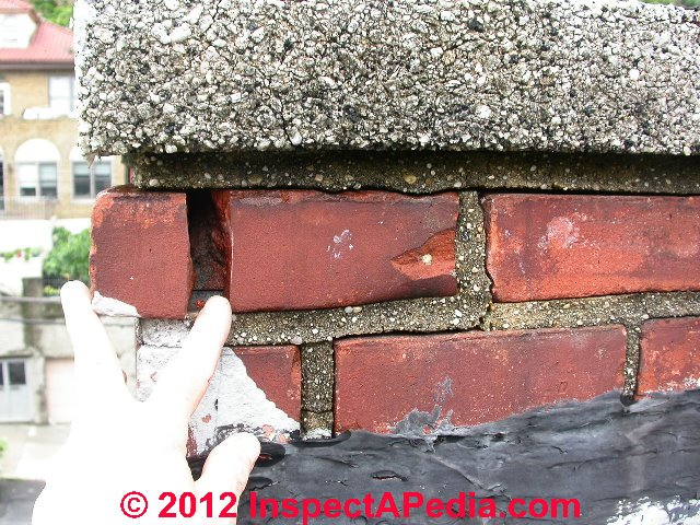 Fantastic Chimney Crack Diagnosis A Catalog Of Types And Causes Of Interior Design Ideas Inesswwsoteloinfo