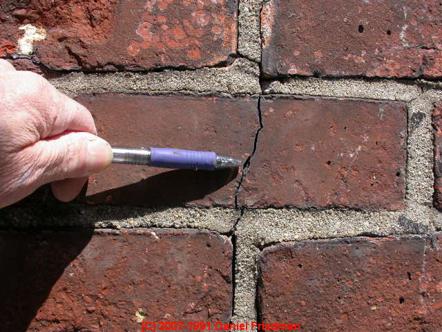 Chimney Crack Diagnosis: A Catalog of types and causes of cracks ...
