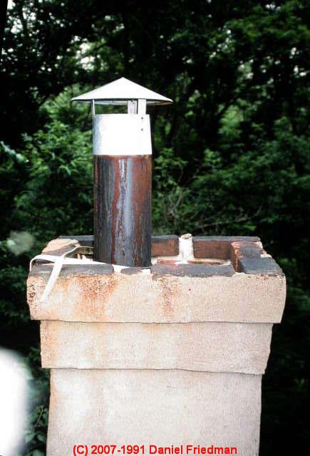 Concrete Chimney Cap : Chimney cap crown inspection defects