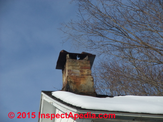 Chimney Rain Cap Defects Amp Hazards