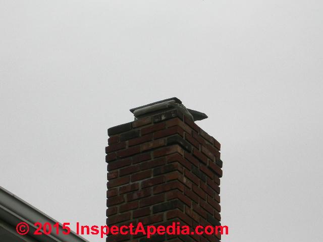 Chimney Rain Cap Defects Amp Hazards