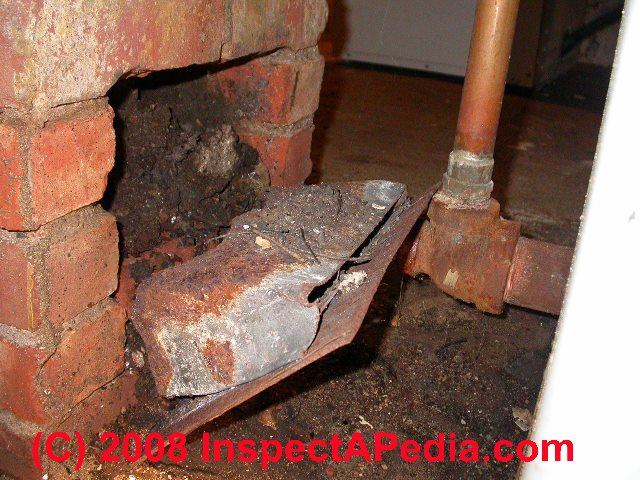 Chimney Cleanout Door Inspect Repair