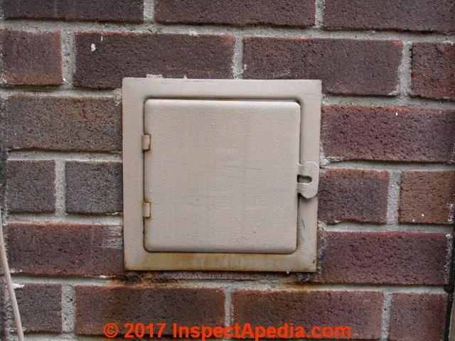 Chimney Cleanout Door Inspect Amp Repair