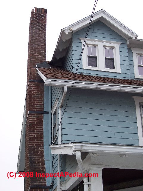 Repair Methods For Ongoing Chimney Movement Leaning