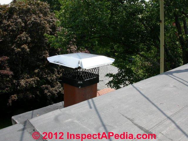 Chimney Rain Cover ~ Chimney rain cap crown choices installation