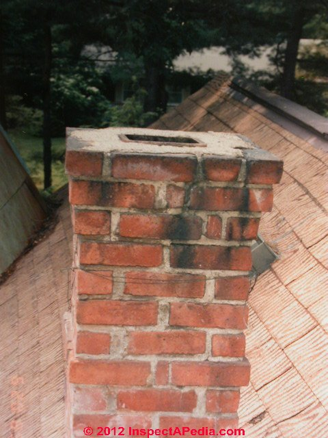 Chimney Stains Discoloration Leak Diagnosis Cleaning Repair Guide
