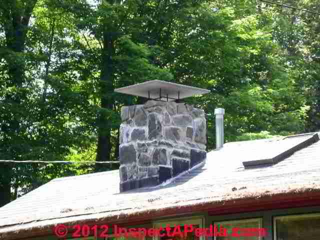 Chimney rain Cap & Chimney Cap/Crown Choices, Installation ...