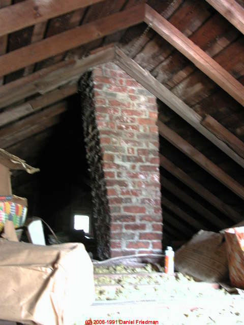 Chimney Leaning Building Separation Movement Indoor