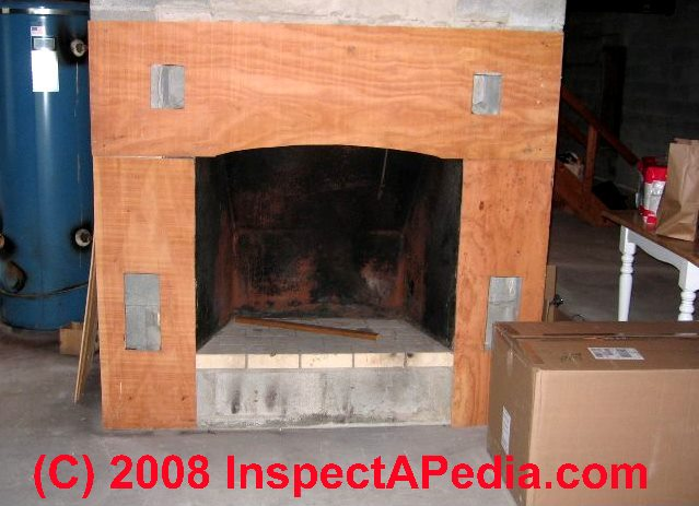 Steel fireplace insert under construction (C) Daniel Friedman - Fireplace Damper Inspection, Operation, & Repair