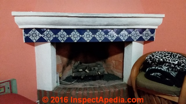 Fireplace Hearth Size Specifications & Settlement / Support / Repair