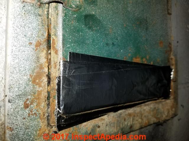 Chimney Cleanout Door Inspect Repair