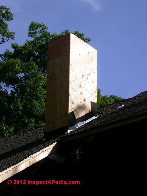 How To Build Or Inspect Chimney Chases Wood Framed
