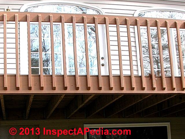 Deck Guardrail Or Stair Railing Baluster Installation Procedure Deck  Design Build Online Guide