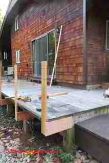 Deck or Porch or Stair Railing Post Connections How to ...