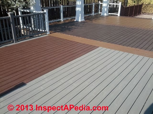 Decking installation how to place space fasten deck