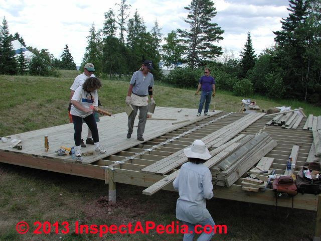Porch Amp Deck Stair Construction How To Build Exterior Stairs