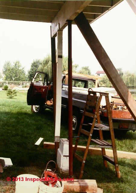 Deck Post Installation Procedure For Deck Design Build