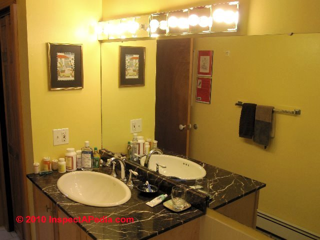Bathroom Light Fixtures Damp Location guide to bathroom lighting locations, levels, types