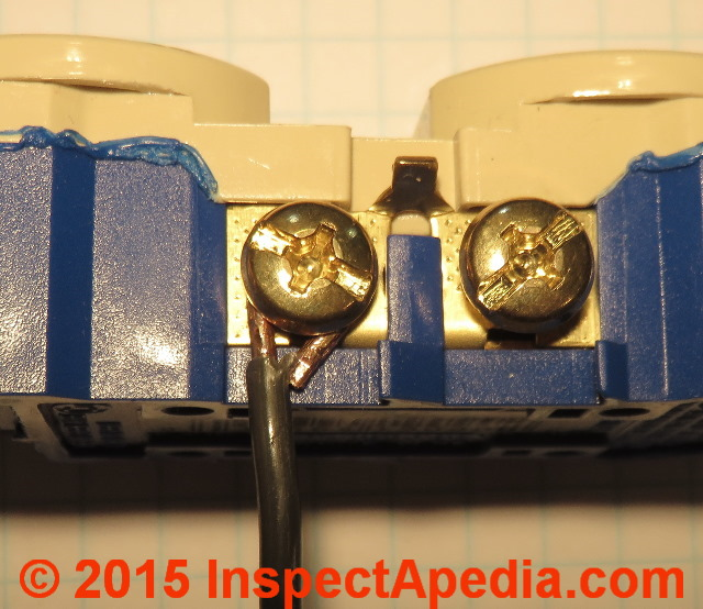 Remarkable Back Wired Electrical Receptacle Switch Connectors Safe Or Unsafe Wiring Digital Resources Bletukbiperorg