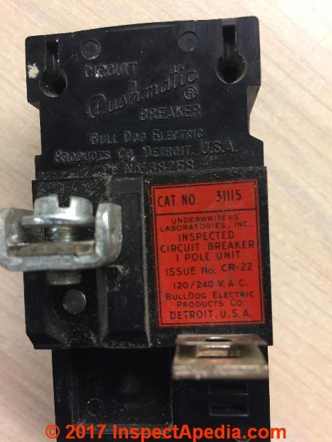 bulldog ite pushmatic circuit breaker compatability rh inspectapedia com
