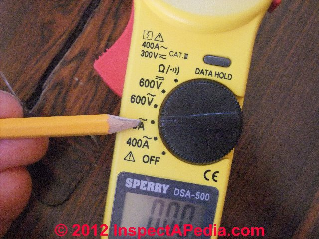 Measure electricity usage: how to measure amps electrical.