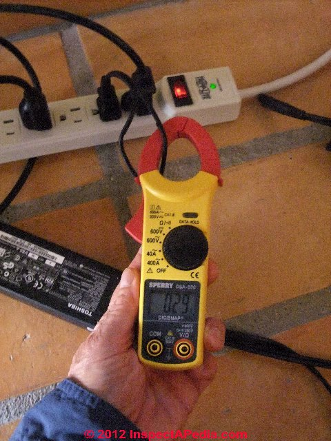 Measuring Electrical Panels : Measure electricity usage how to amps