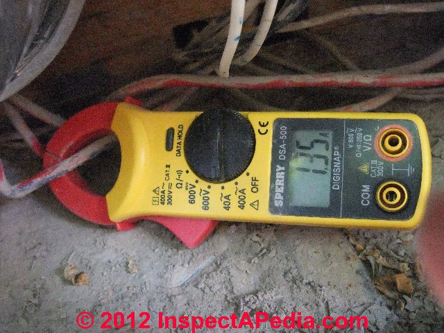 Measure Electricity Usage: How to Measure Amps - electrical