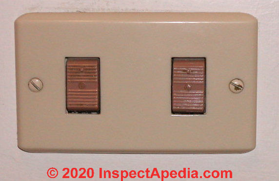 Low Voltage Light Switch Wiring Diagram from inspectapedia.com