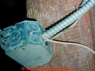 Extension cord wiring is unsafe (C) Daniel Friedman