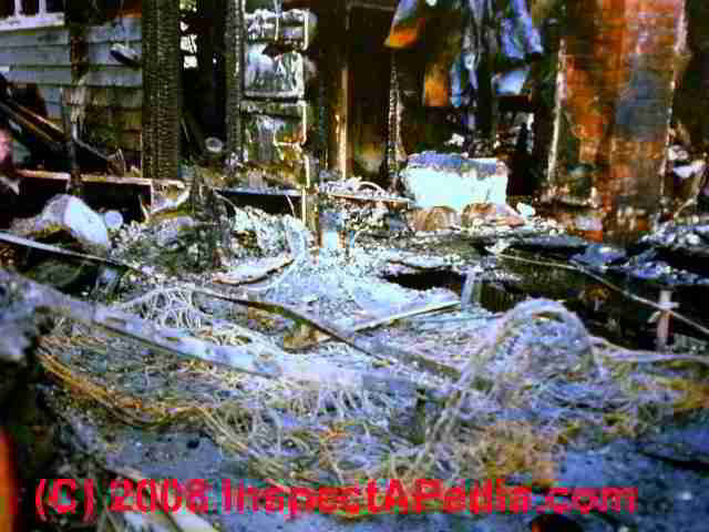 afci guide to arc fault interrupters for home owners and home electrical fire in a heater cord under a rug burned this rhinebeck ny home c