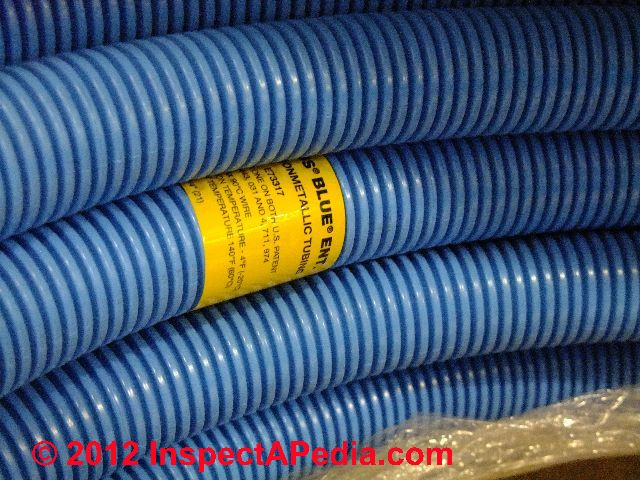 Pvc For Electric : Non metallic electrical conduit types ent lnfc