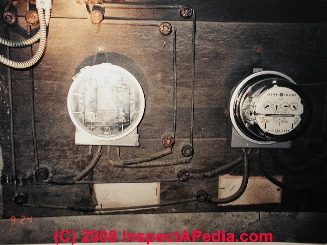 Electrical Service Entry Wire Inspection & How to Determine ... on electrical transformer diagram, residential electrical meter box, electric meter diagram, residential gas meter diagram, residential outlet boxes, residential electrical meter operation, residential meter base, residential electrical riser diagram, residential electrical system diagram, meter loop diagram, residential electrical panels, residential electrical service, electrical service diagram, residential electrical schematics, 200 amp meter base diagram, residential meter loop, residential breaker box diagram, residential electrical meter boxes, residential electrical codes, 300 meter track diagram,