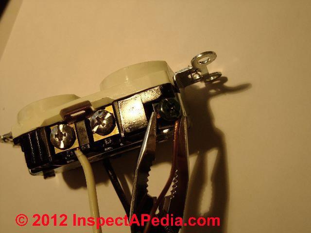 electrical receptacle split receptacle wiring (c) daniel friedman