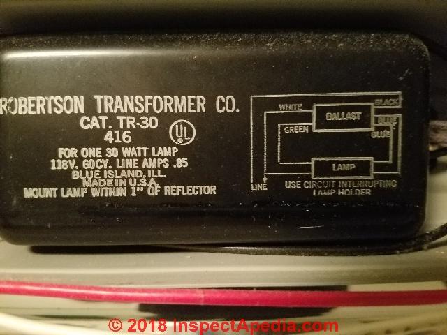 Fluorescent Light Ballast Repair Replacement Wiring