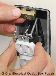 [SCHEMATICS_48IU]  Electrical box screw repair: Stripped or broken electrical box screw repair  for outlet, switch, receptacle | Fuse Box Repair Clips |  | InspectAPedia.com