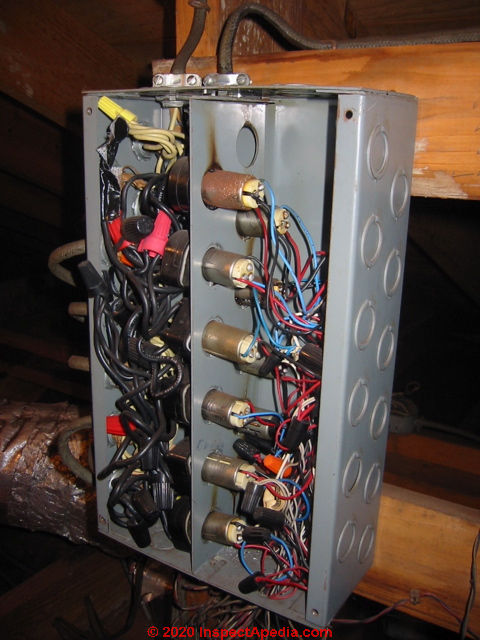 Low Voltage Relays in Lighting Systems Low Voltage relays used to control  lights or motors   Ge Rr3 Relay Wiring Diagram      InspectAPedia.com