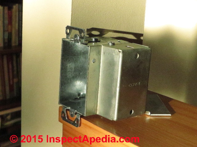 Electrical Box Types & Sizes for Receptacles when wiring ...