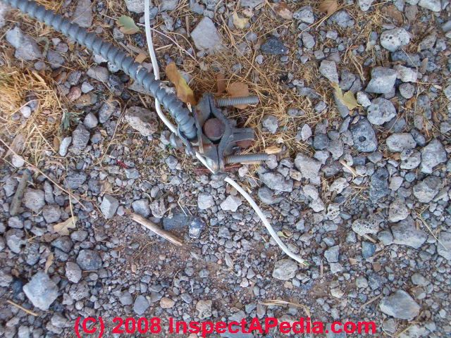 Electrical Grounding Cable : Electric system grounding inspection diagnosis repair
