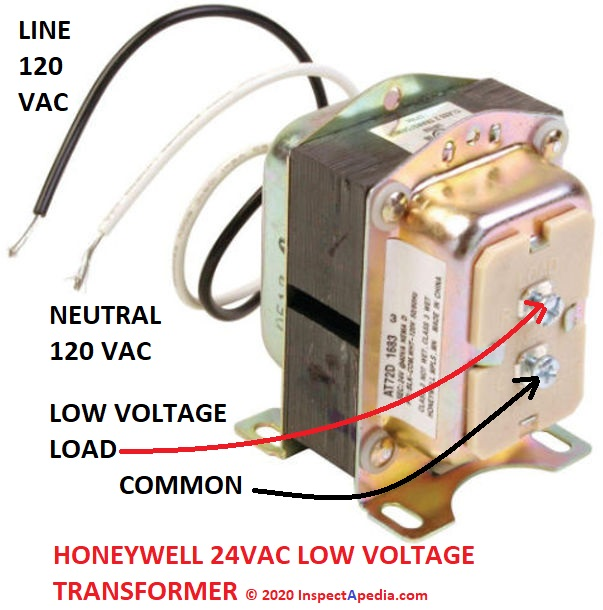Low Voltage Transformer Transverter Converter Install, troubleshoot,  repair, replace LV transformers, converters, transvertersInspectAPedia.com