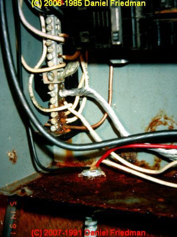 Rust And Corrosion In Electrical Panels A Study And