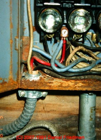 buss fuse box rust and corrosion in electrical panels a study and