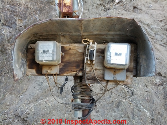 Electric Meter Inspection, Reading, Problem Diagnosis + how to ... on